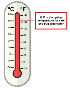 bed bug treatment thermometer