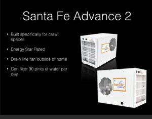 Santa Fe dehumidifier