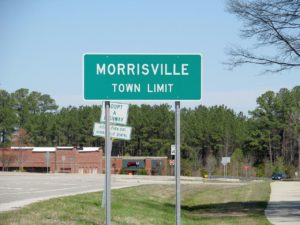 town limit sign morrisville pest control