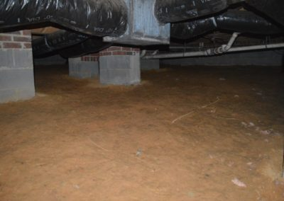 Crawlspace Encapsulation - Before
