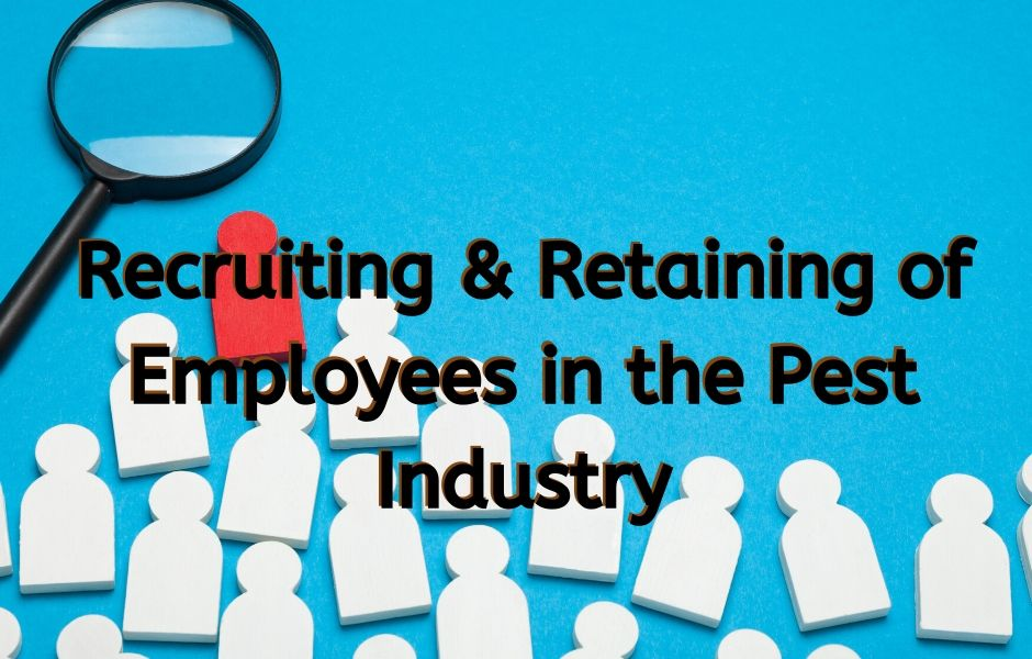 retaining employees in the pest control industry